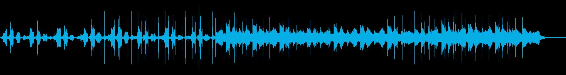 Lo-fi HipHop風の音楽です。の再生済みの波形