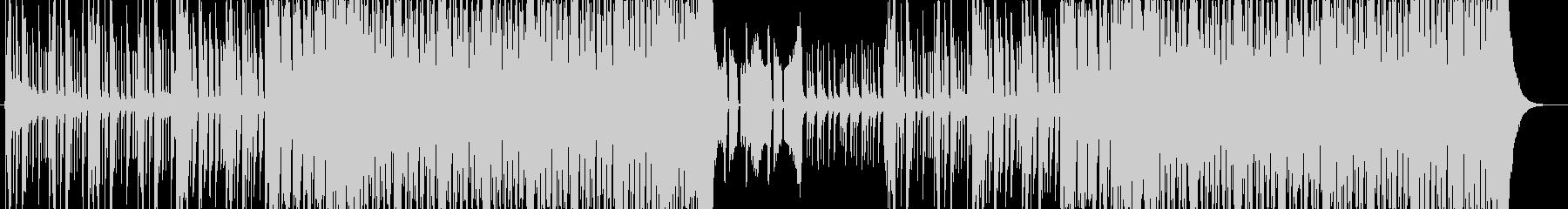激しい和風EDM 侍 サムラEDMの未再生の波形