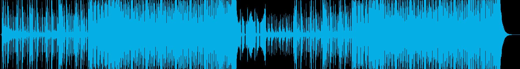 激しい和風EDM 侍 サムラEDMの再生済みの波形