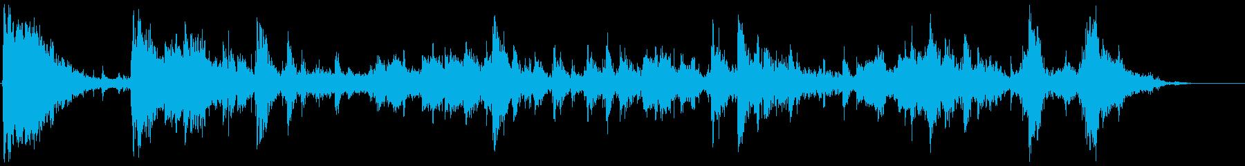 車のロールオーバーの再生済みの波形