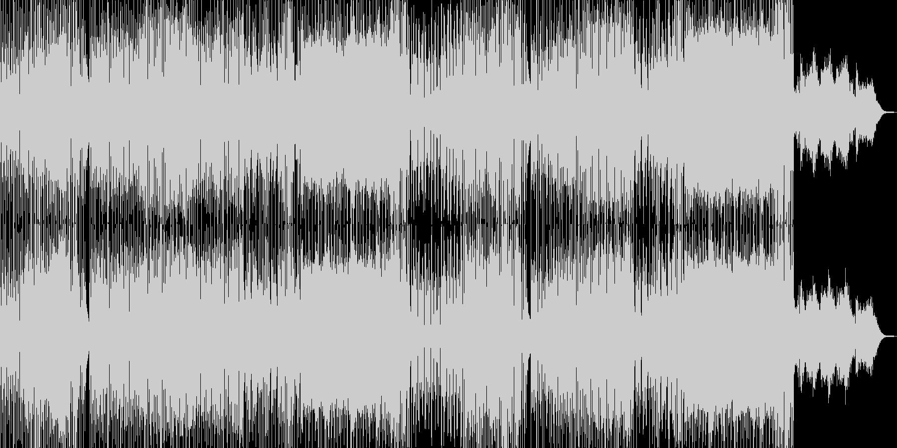 ドタバタコメディ・アニメ調ポップ A+★の未再生の波形