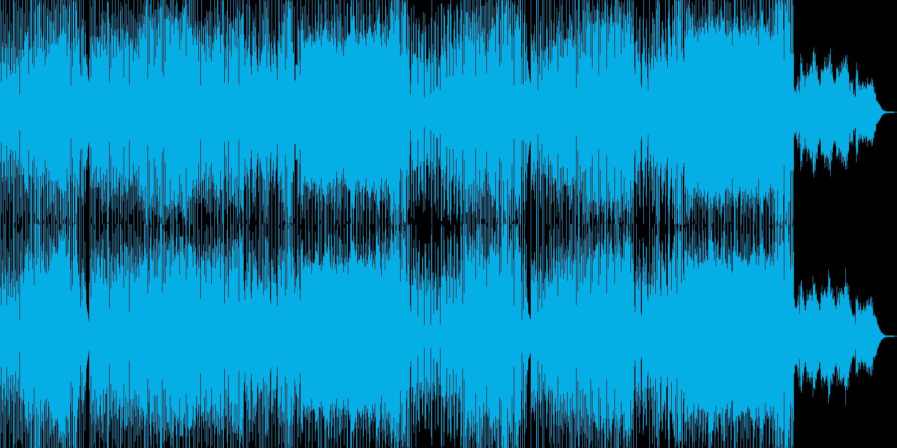 ドタバタコメディ・アニメ調ポップ A+★の再生済みの波形