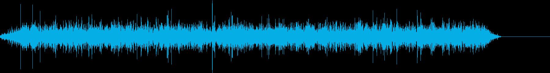 チョロチョロ、サラサラ流れる音です。の再生済みの波形