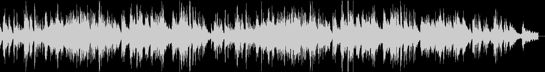 ナレーションによく合うエレピソロバラードの未再生の波形