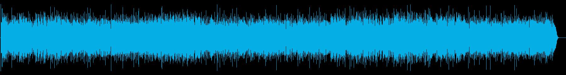 ベンチャーズ風ギターのサーフィンサウンドの再生済みの波形