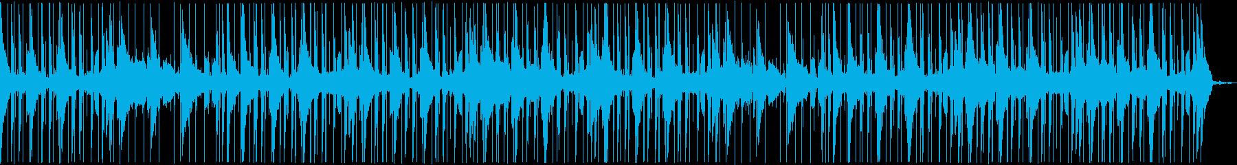深海にいるような哀愁テクスチャートラックの再生済みの波形