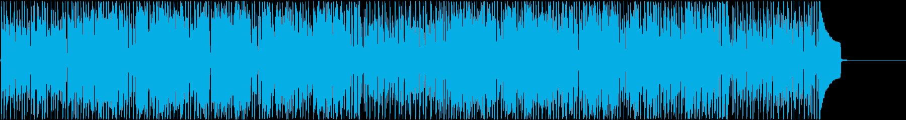 ファンタジーの街中で流れるBGM の再生済みの波形