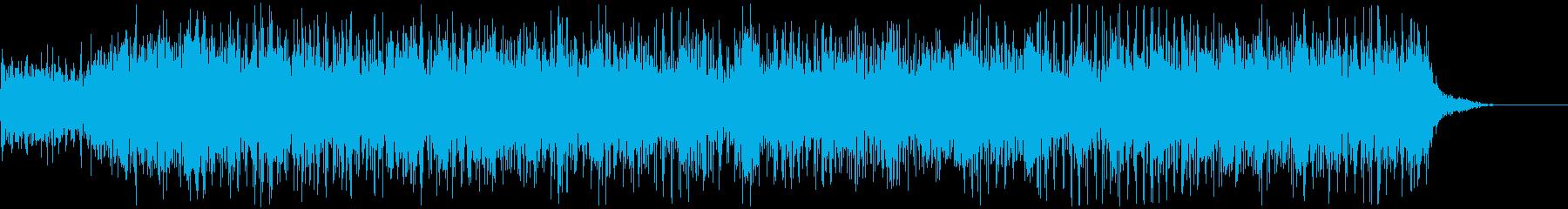 アニメにありそうなガンポッド、マシンガンの再生済みの波形