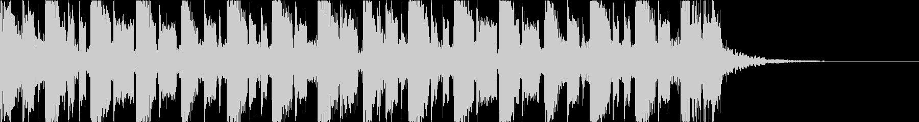 キャッチーで深みのあるEDM2の未再生の波形