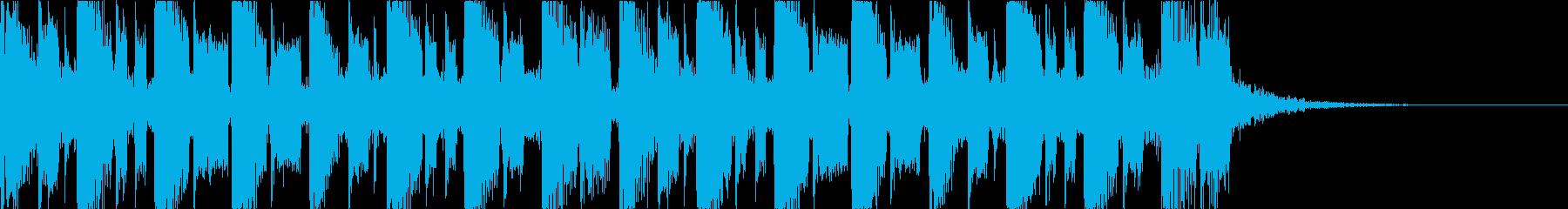 キャッチーで深みのあるEDM2の再生済みの波形