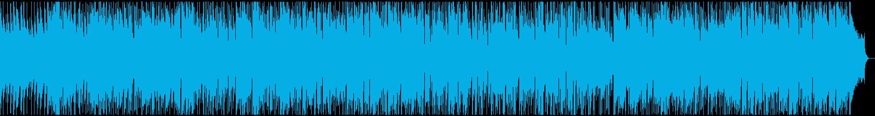 ハーモニカが唄うすこし物憂いボサノバの再生済みの波形