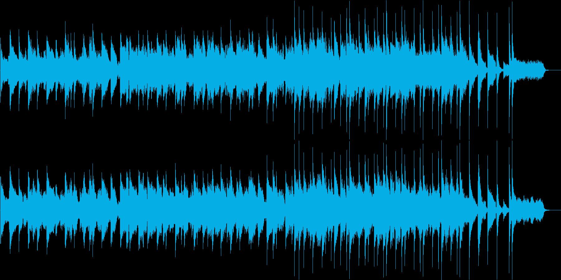 サックスとピアノのお洒落なジャズバラードの再生済みの波形