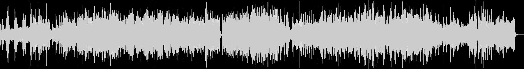 繊細で幻想的なピアノシンセの未再生の波形
