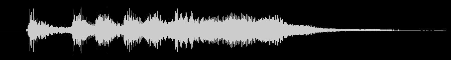 ファンファーレ(パッパパパパパーン)02の未再生の波形