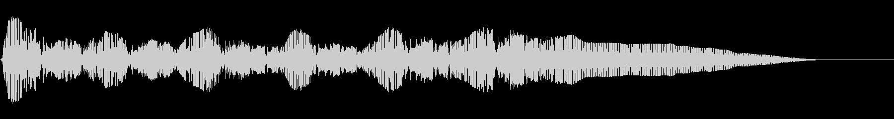 TUBA:スクランブルアクセント、...の未再生の波形