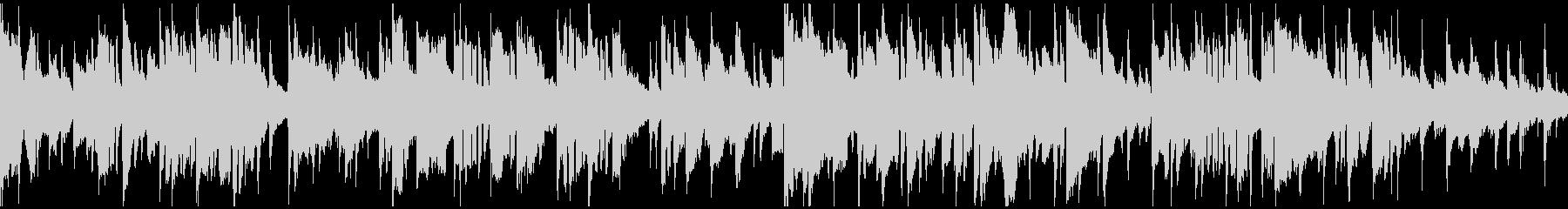 サックス生演奏の都会的バラード※ループ版の未再生の波形