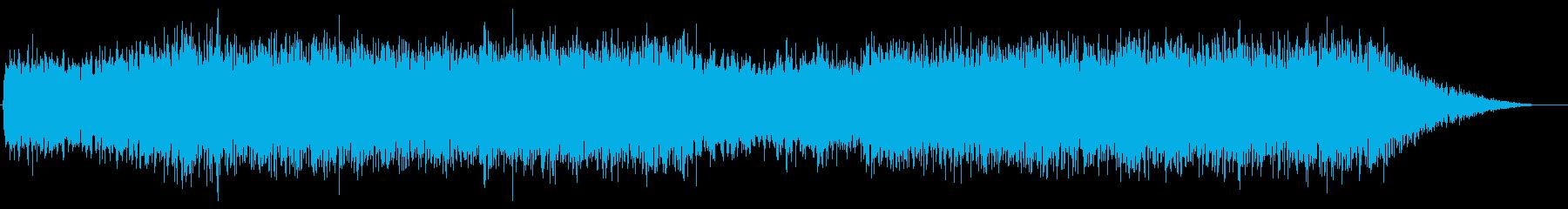 睡眠導入 海の底のようなヒーリングの再生済みの波形