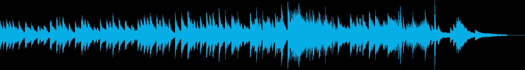 童謡・紅葉のピアノソロアレンジ。の再生済みの波形