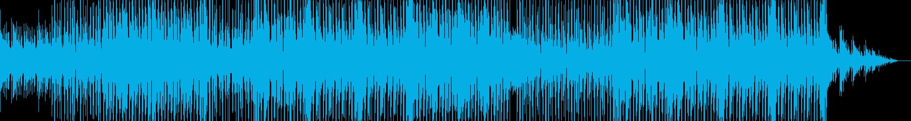 やさしくて弾けた感じのポップス曲の再生済みの波形