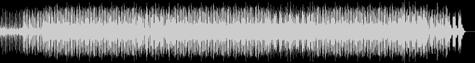 デジタルスクラッチなイメージの曲の未再生の波形