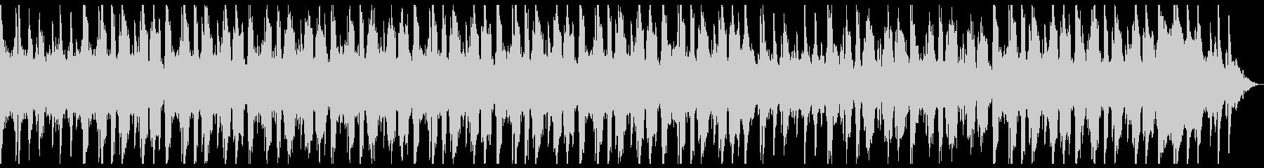 ピアノの旋律が素晴らしいチルトラック♪の未再生の波形