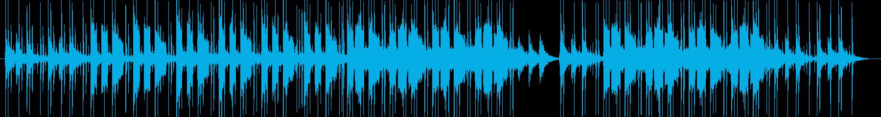 お洒落・チルアウト・ヒップホップの再生済みの波形