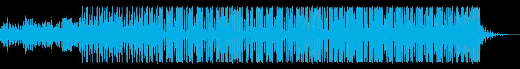 多目的BGM用スムースジャズの再生済みの波形