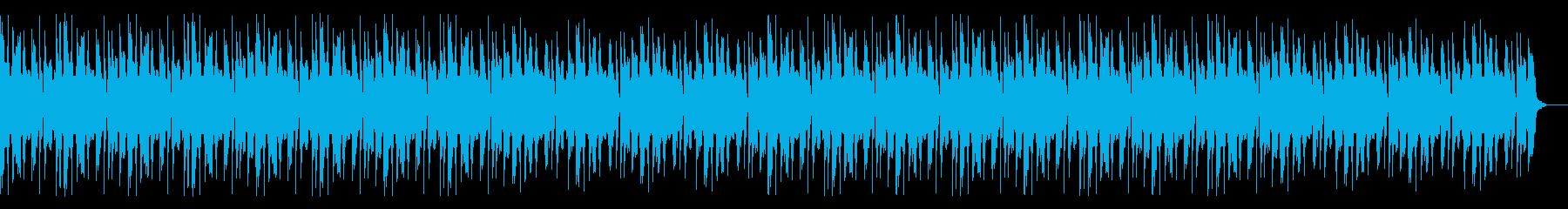 休日リラックスチルアウト・YouTubeの再生済みの波形