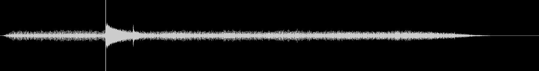 ジリジリ…チン!オーブントースターの音の未再生の波形