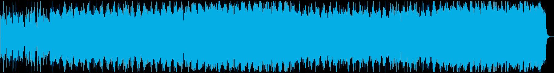 春の山をイメージした和風バラード系の再生済みの波形