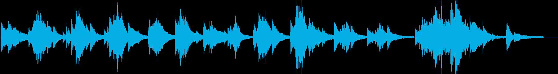 BGM11 感傷に浸るようなピアノソロの再生済みの波形