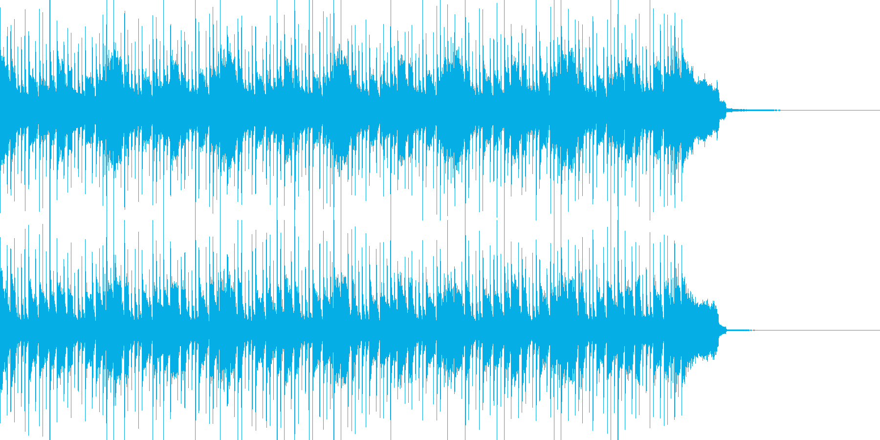 緊迫感ある一曲 OPやダイジェスト等にの再生済みの波形