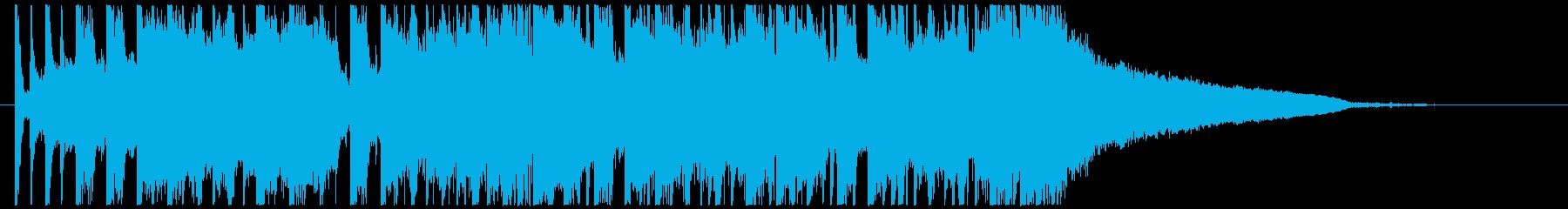 壮大なEDM ジングル TIKTOKの再生済みの波形