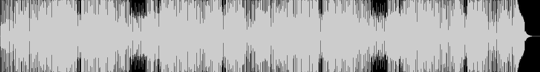 レトロでファンキーなブラスロックの未再生の波形