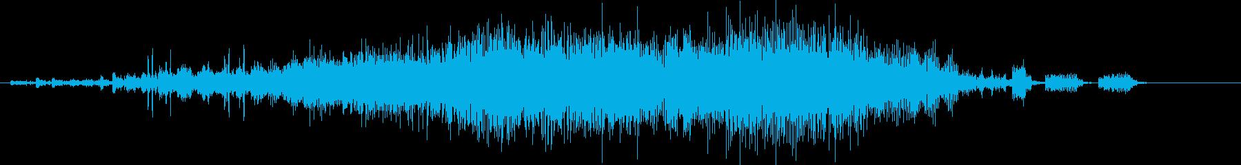 【SF】【機械】 奇妙な音_05 ロボの再生済みの波形