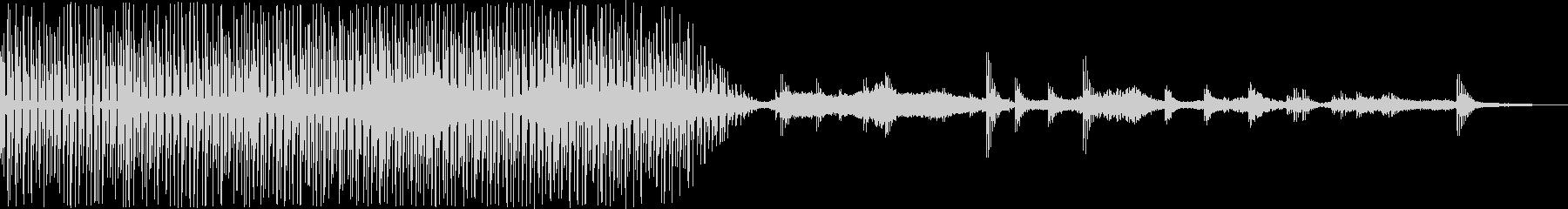 幾何学的な音使い、そして360度に音を…の未再生の波形