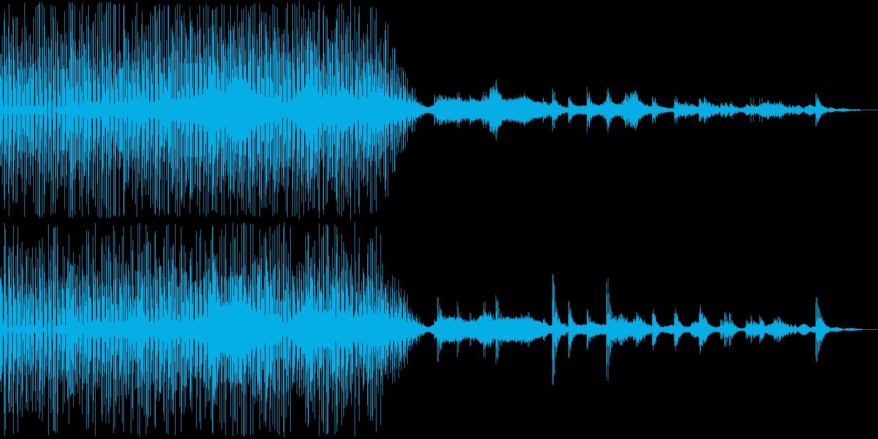 幾何学的な音使い、そして360度に音を…の再生済みの波形
