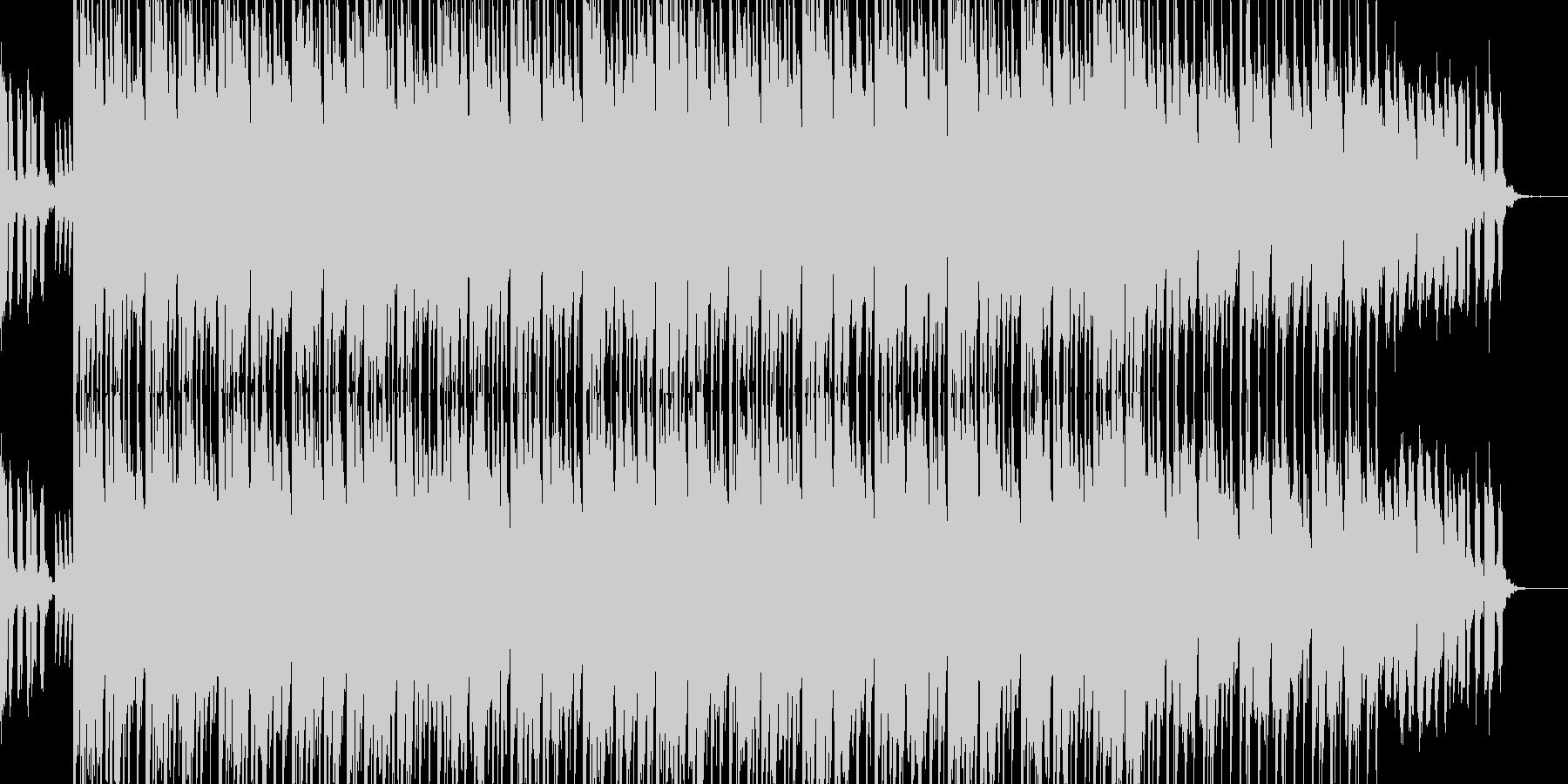 ジングルっぽい楽曲ですの未再生の波形