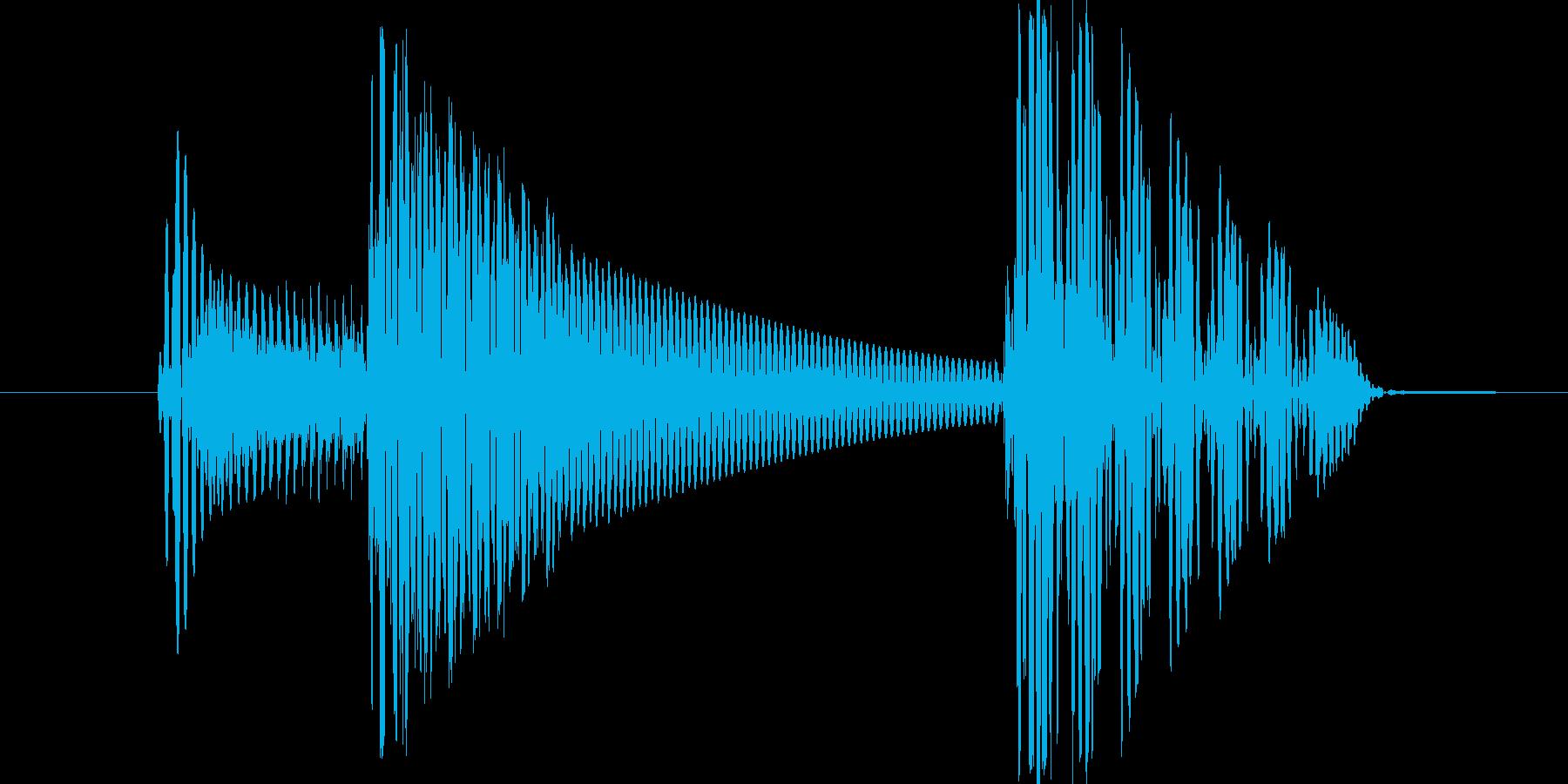 ピポンッ(ポップアップorキャンセル)の再生済みの波形