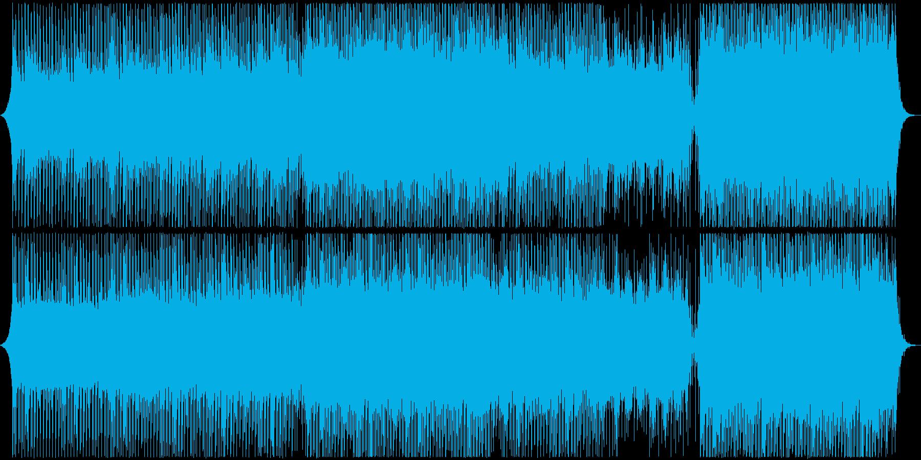 真面目な現代医学音楽の再生済みの波形