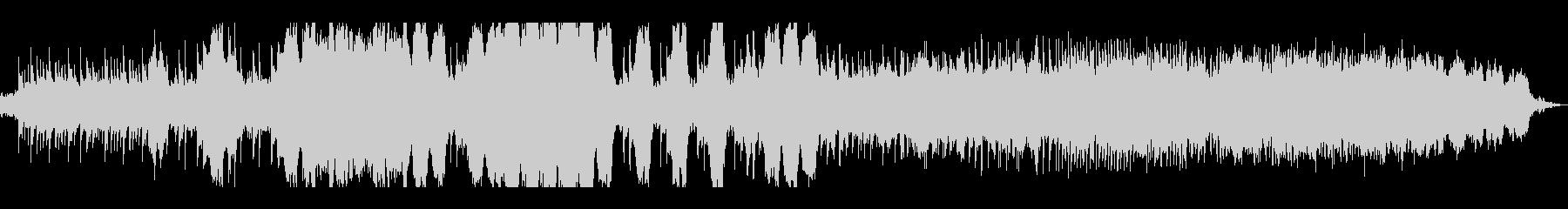 ピアノが印象的な悲しい雰囲気のBGMの未再生の波形