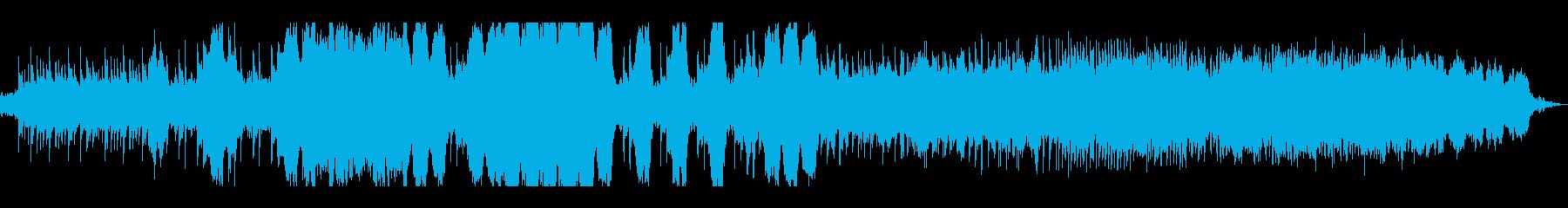 ピアノが印象的な悲しい雰囲気のBGMの再生済みの波形