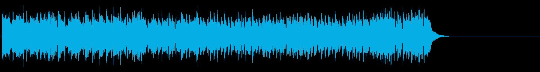 心が弾むOP向けポップス(イントロ~…)の再生済みの波形