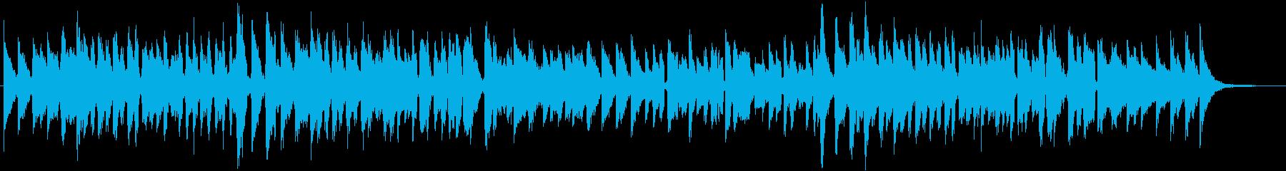 ひな祭りをテーマにした楽曲の再生済みの波形