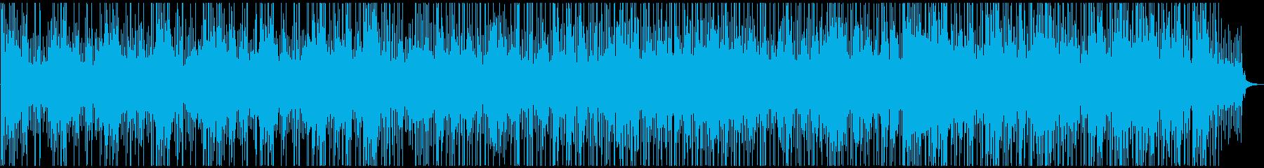 幻想的。何かが始まる予感がするBGMの再生済みの波形