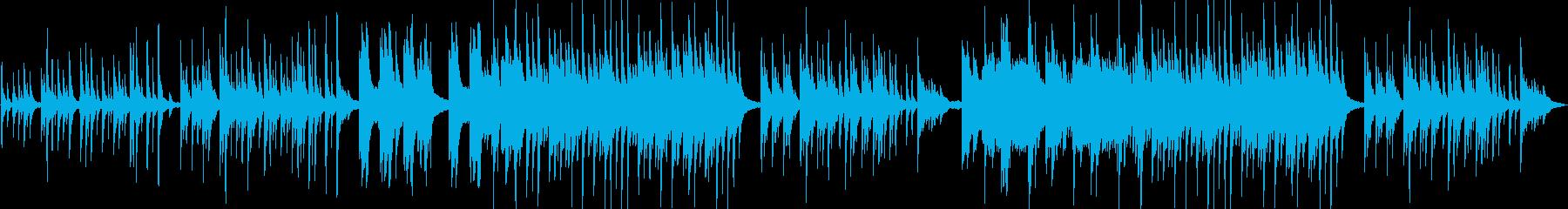 和風ピアノバラード 悲しい切ない懐かしいの再生済みの波形