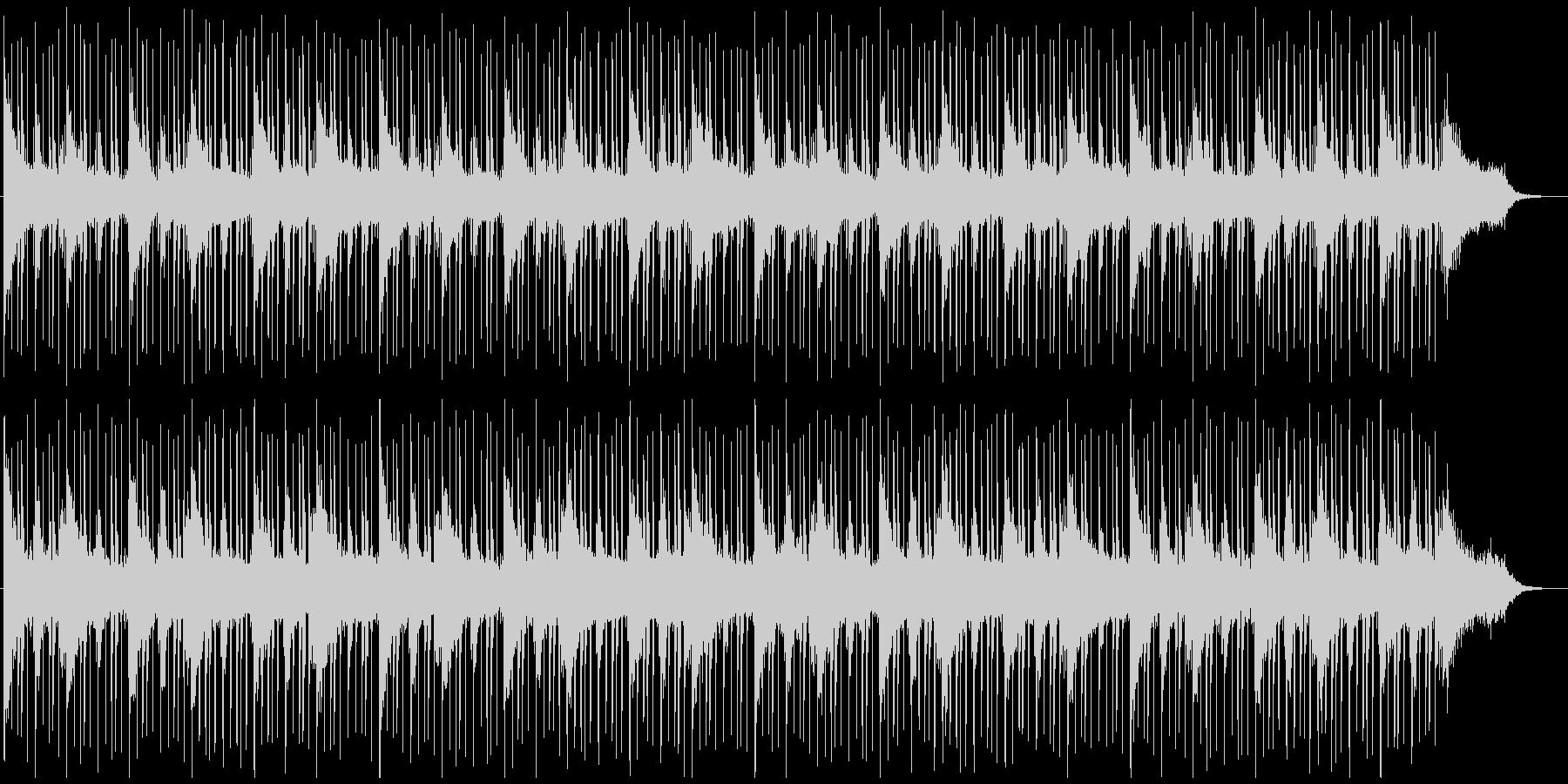 ループ系の使いやすいBGMの未再生の波形