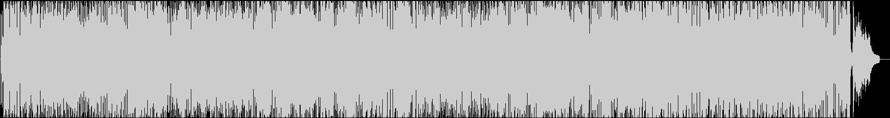 ほのぼのとした雰囲気のフレンチポップの未再生の波形