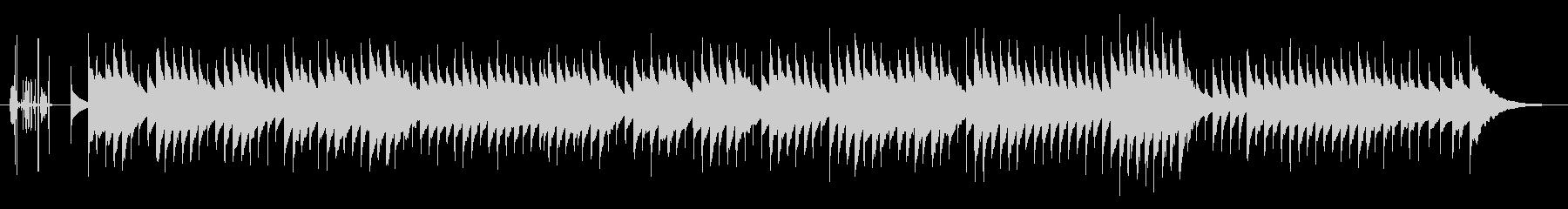 別れの曲オルゴールアレンジの未再生の波形