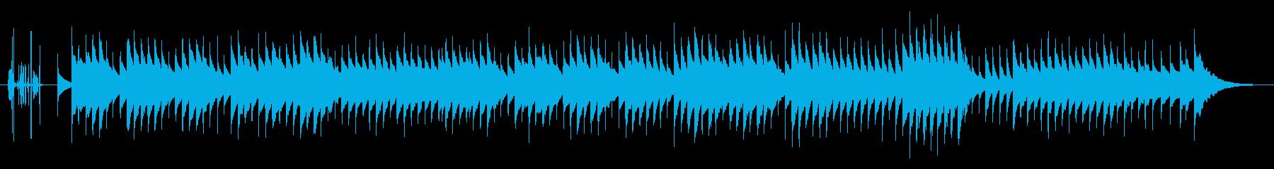 別れの曲オルゴールアレンジの再生済みの波形
